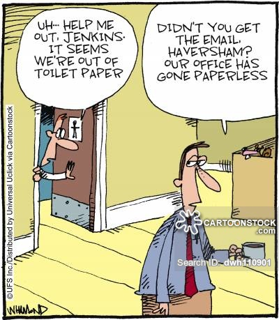 What dream about toilet paper means